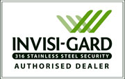 Alpine Glass is an authorised dealer for Invisi-Gard.